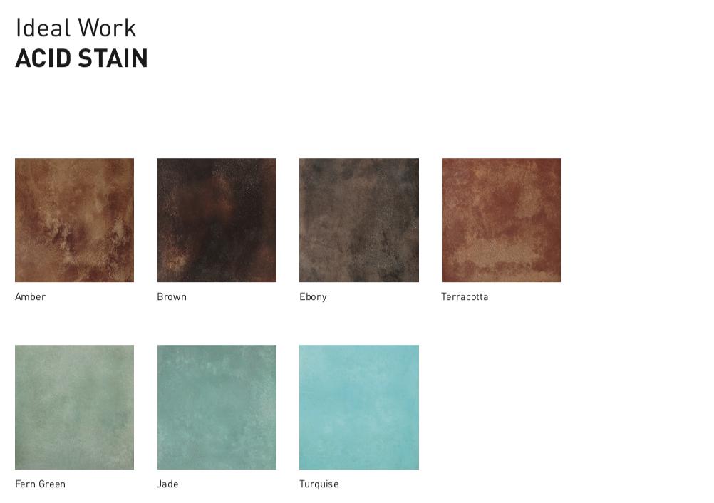 Pavimento acidificato in cemento effetti colore unici - Cemento colorato per esterni costo ...