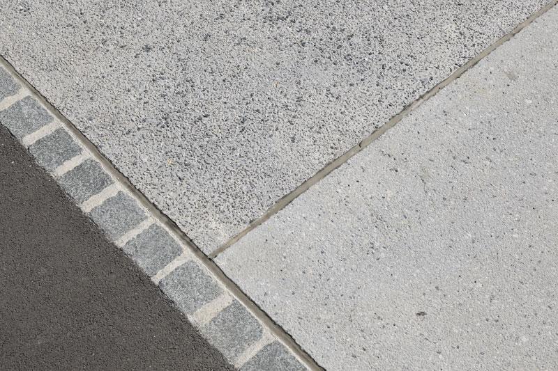 Pavimento in graniglia calcestruzzo effetto lavato sassoitalia