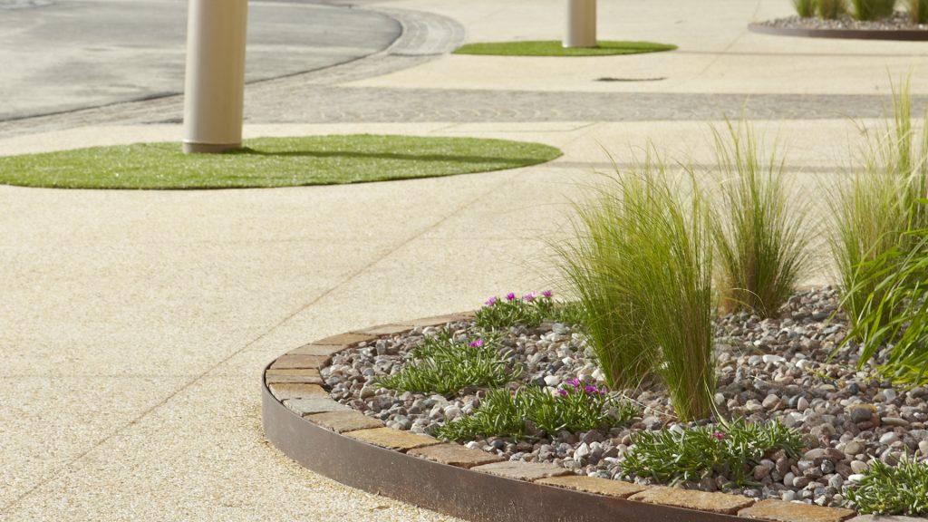 Pavimenti in cemento di basso spessore per esterni tipologie e