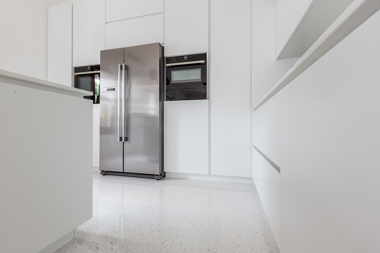 pavimento cucina in lixio