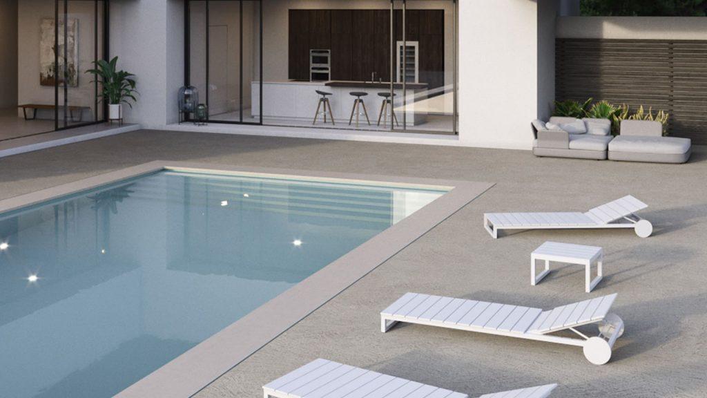 Pavimenti in cemento di basso spessore per esterni: tipologie e vantaggi