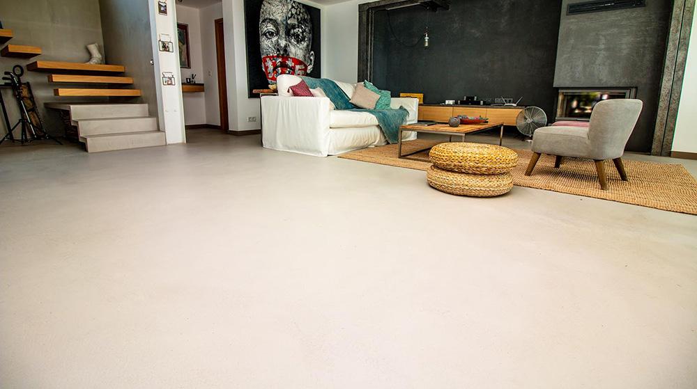 pavimento senza fughe effetto continuo