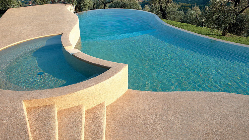 pavimenti in sassoitalia bordo piscina