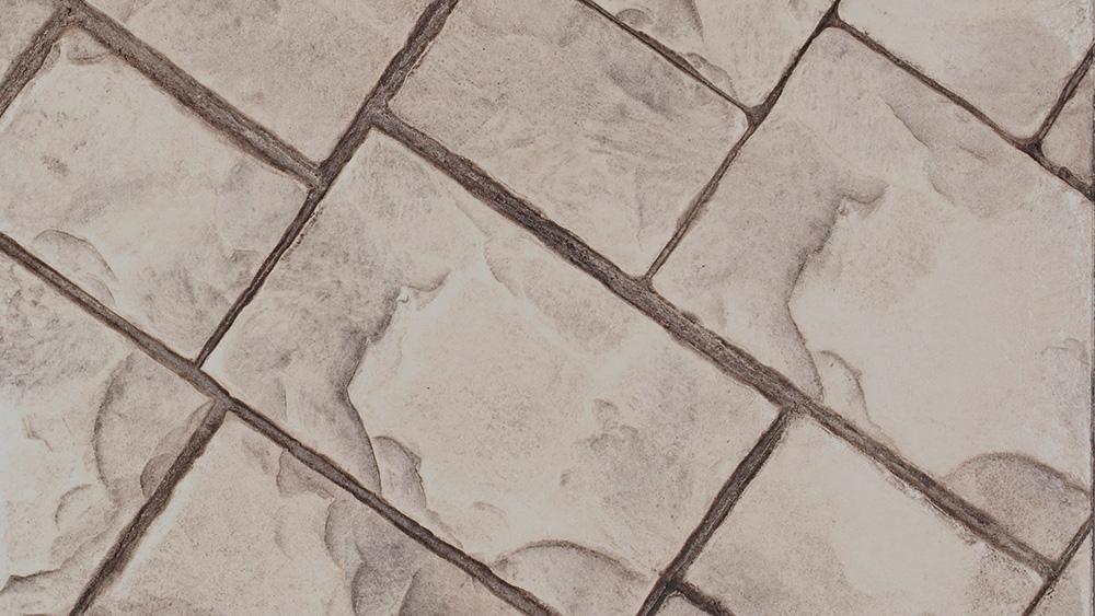 pavimento stampato in cemento