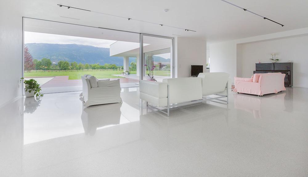 Ristrutturare il soggiorno e il salotto idee di pavimenti for Salotto casa moderna