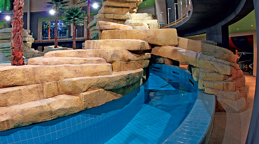 rocce artificiali per bordo piscina