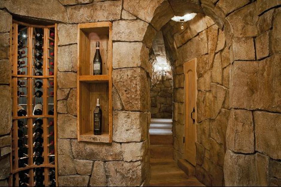 pavimenti per taverne e cantine in muro stampato