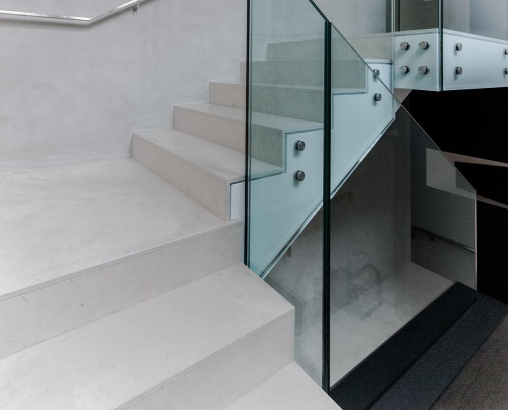 Rivestimenti Scale Interne Gres Porcellanato scale in microcemento: rivestire i gradini – ideal work