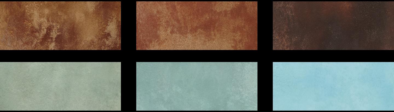 I colori di Pavimento Acidificato